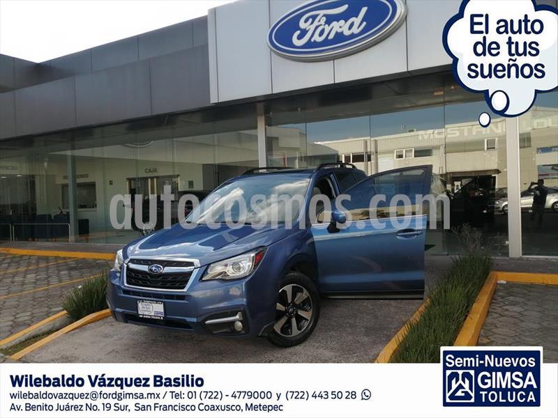 Subaru Forester Limited usado (2018) color Azul Claro precio $299,000