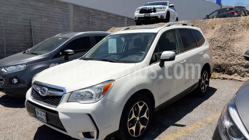 Subaru Forester XT usado (2016) color Blanco precio $365,000
