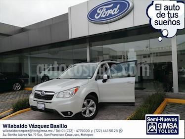 Subaru Forester XS usado (2014) color Blanco precio $175,000