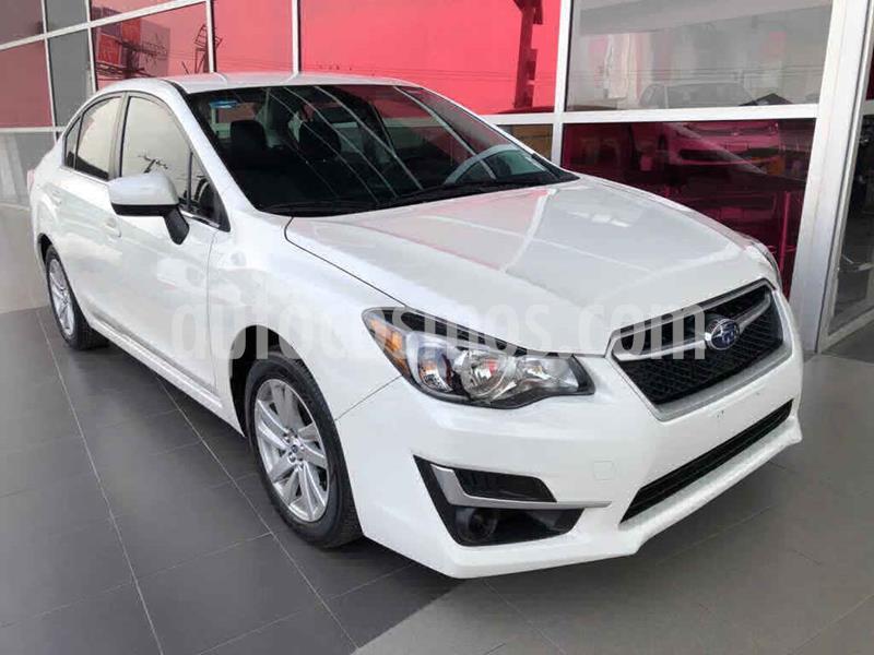 Subaru Impreza 2.0i Aut usado (2016) color Blanco precio $239,000