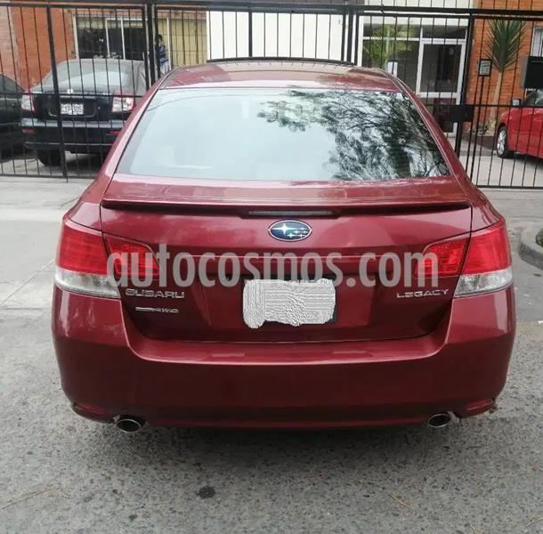 Subaru Legacy  2.5L GT Aut usado (2011) color Rojo precio $3,800