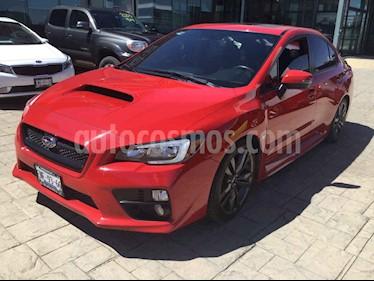 Subaru WRX 4p WRX H4/2.0/T Man usado (2017) color Rojo precio $375,000
