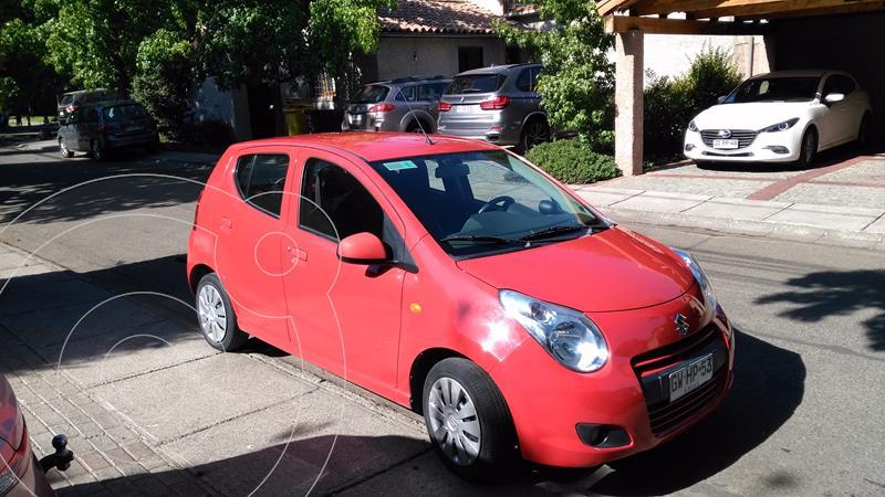 Suzuki Celerio GLX BT AC Aut usado (2014) color Rojo precio $5.800.000