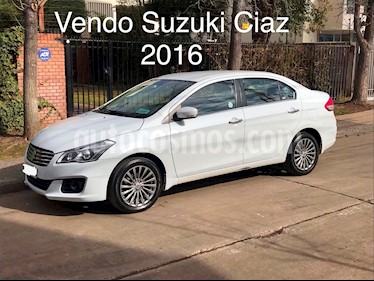 Suzuki Ciaz 1.4L GLX usado (2016) color Blanco Perla precio $6.850.000
