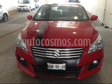 Foto venta Auto usado Suzuki Ciaz GLS (2018) color Rojo precio $230,000