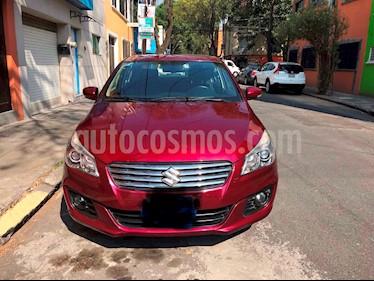 Foto venta Auto Seminuevo Suzuki Ciaz GLX Aut (2016) color Rojo Cerezo precio $158,000