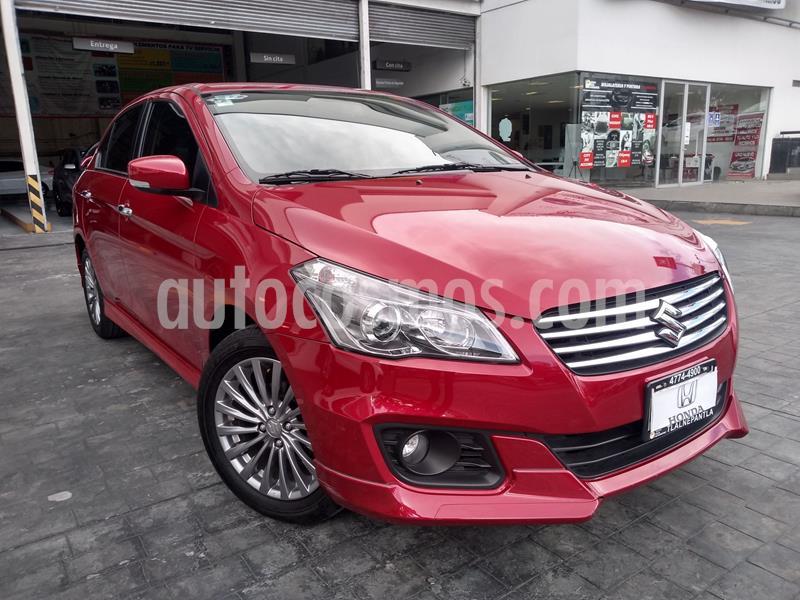 Suzuki Ciaz GLX Aut usado (2019) color Rojo precio $225,000