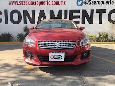 Suzuki Ciaz RS Aut usado (2018) color Rojo precio $220,000