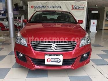 Suzuki Ciaz RS Aut usado (2018) color Rojo precio $210,000