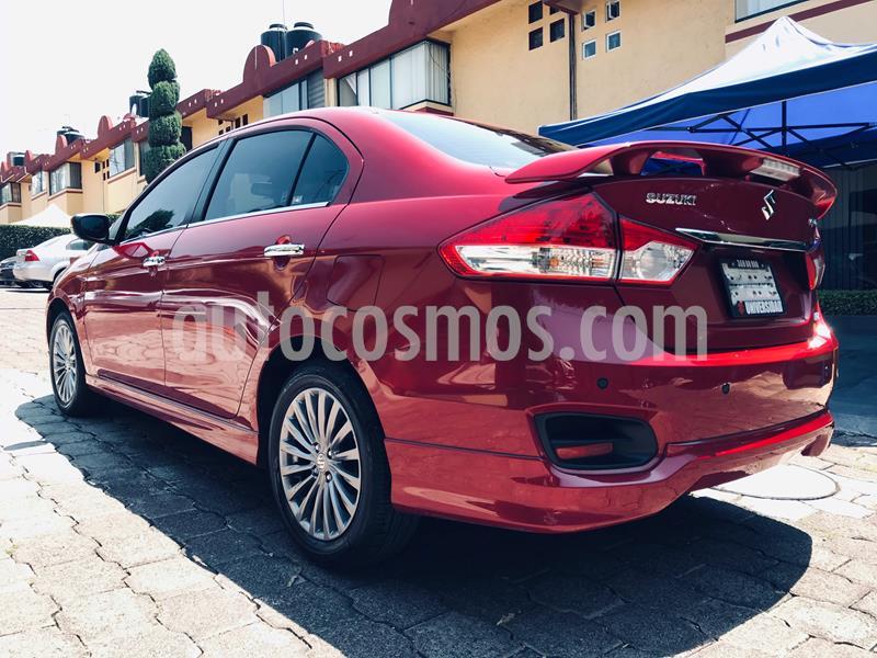 Suzuki Ciaz RS usado (2019) color Rojo Cerezo precio $219,000