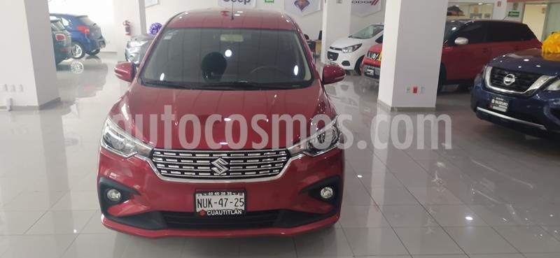Suzuki Ertiga GLX Aut usado (2020) color Rojo precio $302,000