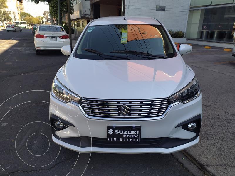 Foto Suzuki Ertiga GLX Aut usado (2019) color Blanco precio $274,000