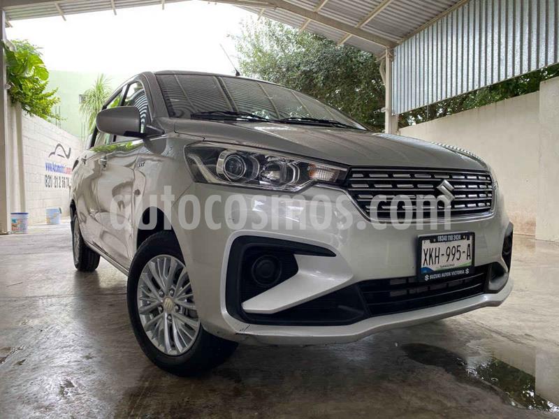 Suzuki Ertiga GLS Aut usado (2019) color Gris precio $235,000