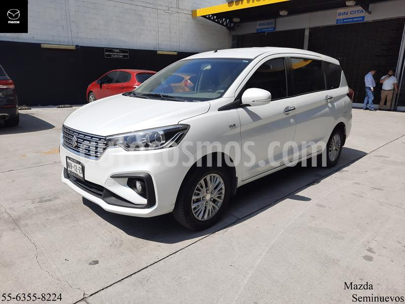 foto Suzuki Ertiga GLX Aut usado (2019) color Blanco Magnesio precio $260,000