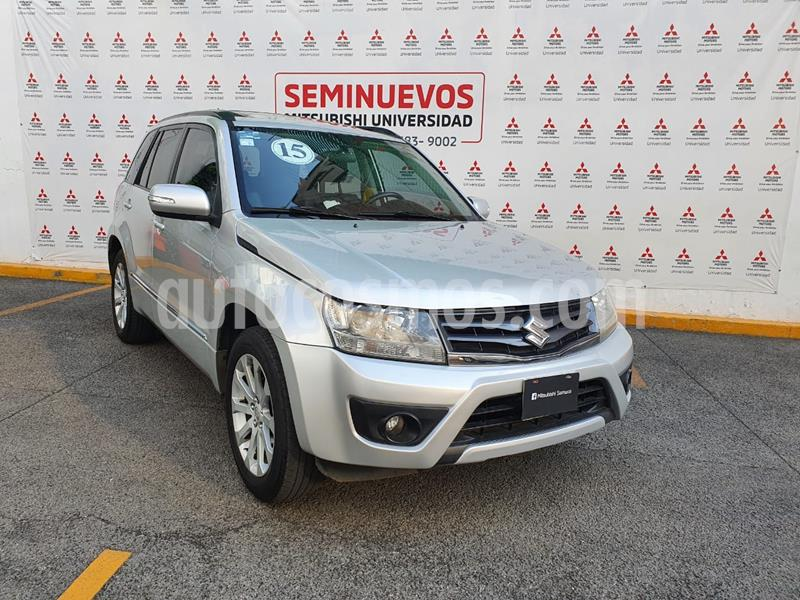 Suzuki Grand Vitara GLS usado (2015) color Plata Metalico precio $195,000