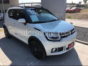 Foto venta Auto usado Suzuki Ignis GLX (2018) color Blanco precio $215,000
