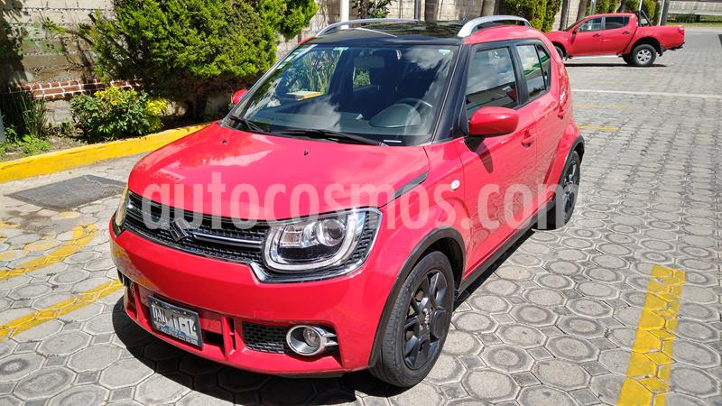 Suzuki Ignis GLX Aut usado (2017) color Rojo precio $175,000