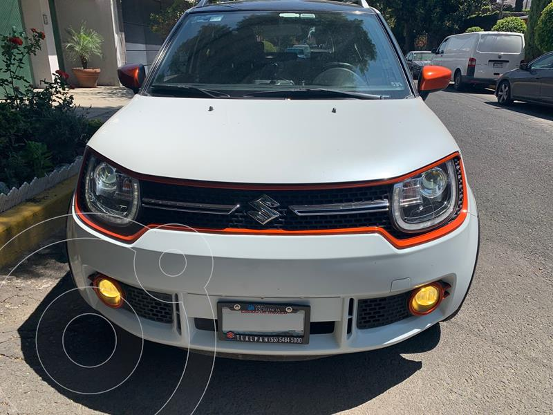 Suzuki Ignis GLX Aut usado (2018) color Blanco precio $209,000