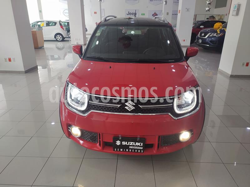 Suzuki Ignis GLX Aut usado (2018) color Rojo precio $193,000