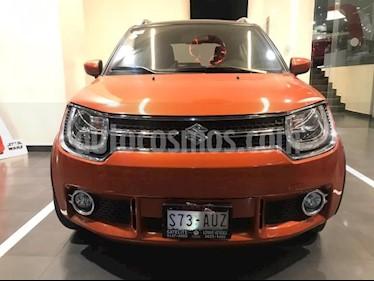 Suzuki Ignis 5P GLX 1.2L TM5 A/AC. AUT. VE RA-16 usado (2018) color Naranja precio $215,900