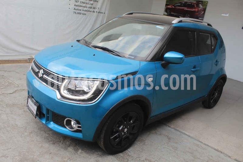 Suzuki Ignis GLX Aut usado (2019) color Azul precio $222,000