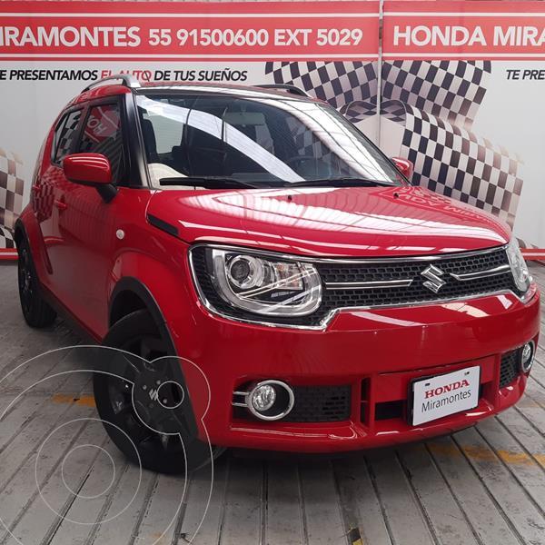Foto Suzuki Ignis GLX Aut usado (2019) color Rojo financiado en mensualidades(enganche $62,500 mensualidades desde $5,069)