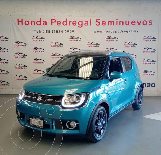 Foto Suzuki Ignis GLX usado (2018) color Azul precio $189,000