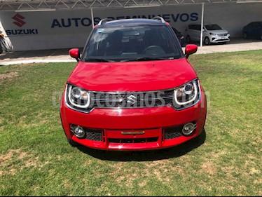 Suzuki Ignis 5p GLX CVT usado (2020) color Rojo precio $248,010