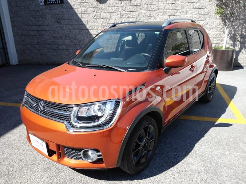 Suzuki Ignis GLX Aut usado (2018) color Naranja precio $190,000