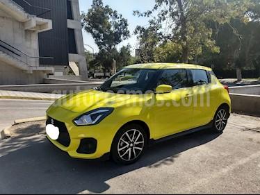 Suzuki Swift Sport 1.4L Aut usado (2018) color Amarillo precio $10.800.000
