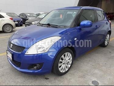 Foto venta Auto usado Suzuki Swift 5p GLS L4/1.4 Aut (2013) color Azul precio $130,000