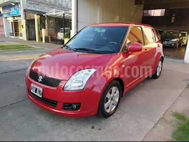 Suzuki Swift 5P 1.5 usado (2010) color Rojo precio $359.000