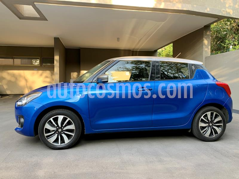 Suzuki Swift 1.2L GLX Bi-Tono  usado (2018) color Azul Metalizado precio $7.780.000