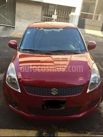 Foto venta Auto usado Suzuki Swift GLS (2012) color Rojo precio $105,000