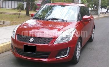 Foto venta Auto usado Suzuki Swift GLX Aut (2014) color Rojo Rock precio $146,000