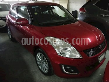 Foto venta Auto usado Suzuki Swift GLX (2015) color Rojo precio $160,000
