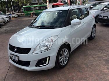 Foto venta Auto usado Suzuki Swift GLX (2015) color Blanco precio $169,000