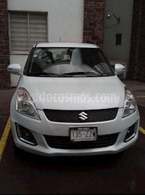 Foto venta Auto usado Suzuki Swift GLX (2015) color Blanco precio $162,500