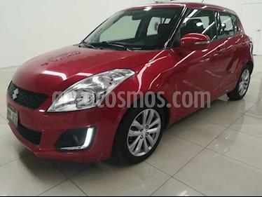 Foto venta Auto usado Suzuki Swift GLX (2015) color Rojo precio $158,000