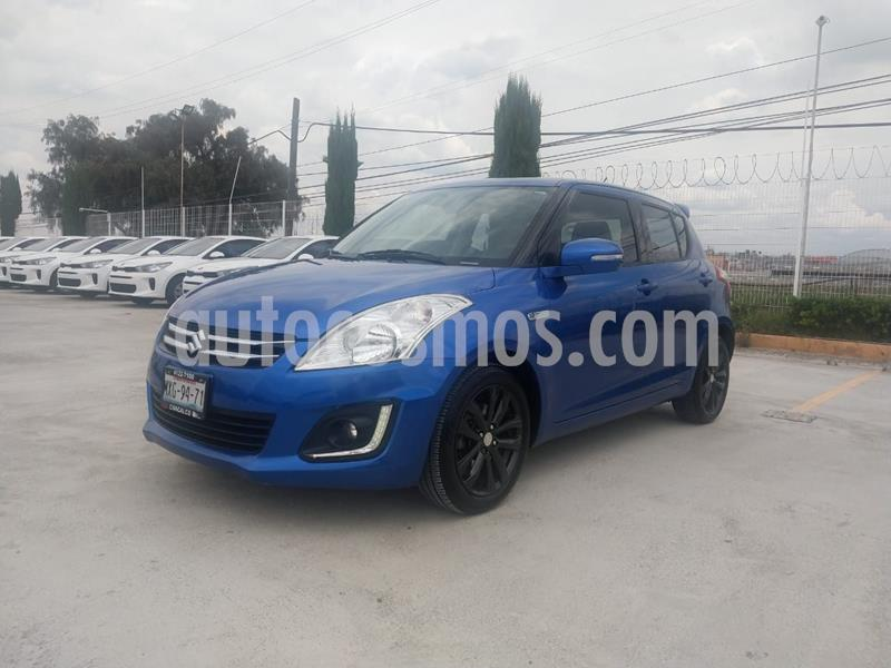 Suzuki Swift GLX Aut usado (2016) color Azul precio $180,000