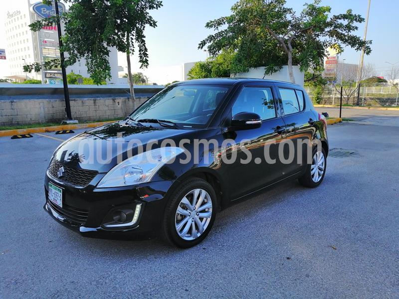 Suzuki Swift GLX usado (2017) color Negro precio $159,000