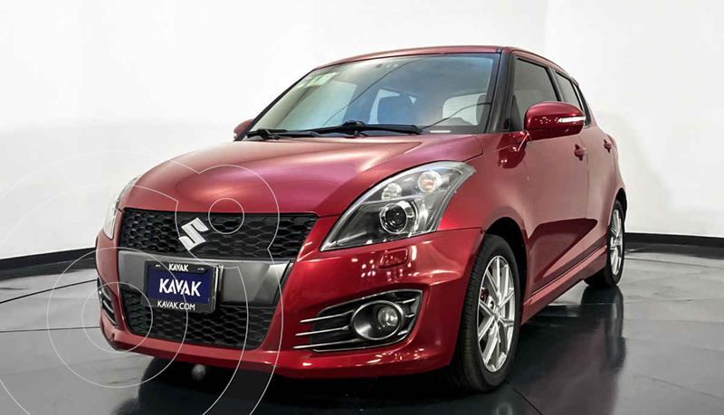 Suzuki Swift GA usado (2016) color Rojo precio $194,999