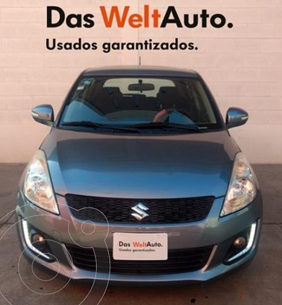 Suzuki Swift GLX Aut usado (2015) color Azul Jazz precio $155,000