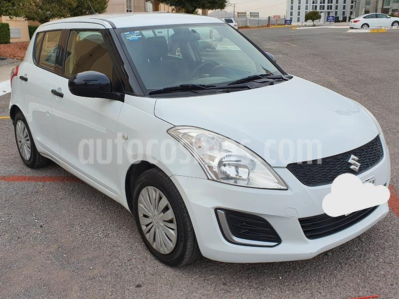 Suzuki Swift GA usado (2016) color Blanco Remix precio $135,000
