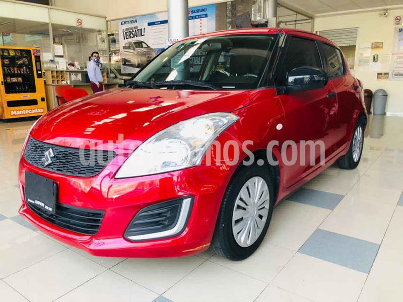 foto Suzuki Swift GA usado (2017) color Rojo precio $160,000