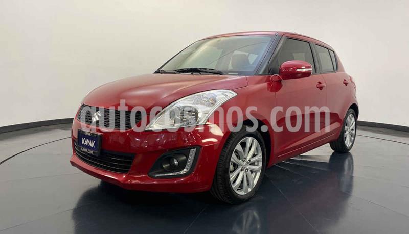 Suzuki Swift GLX Aut usado (2017) color Rojo precio $219,999
