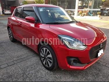 Suzuki Swift 5P HB GLX L4 1.2L AT A/AC. AUT. GPS F. NIEBLA RA- usado (2018) color Rojo precio $219,000