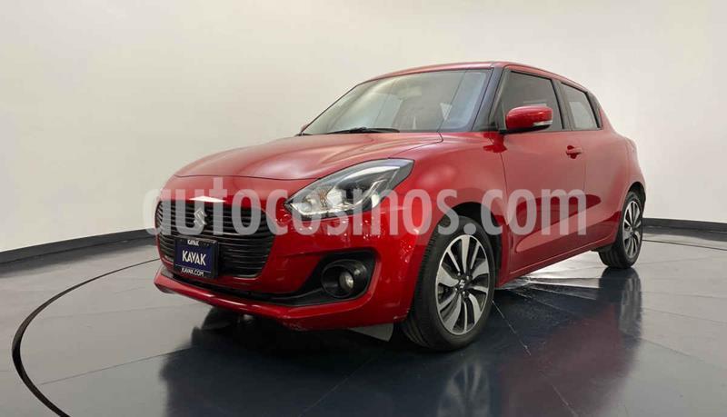 Suzuki Swift GLX usado (2019) color Rojo precio $252,999
