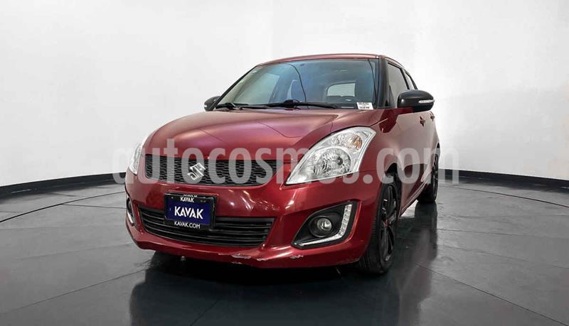 Suzuki Swift GLX Aut usado (2016) color Rojo precio $189,999