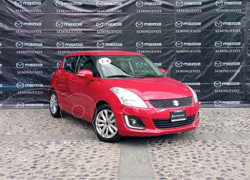 Suzuki Swift GLX usado (2014) color Rojo precio $160,000